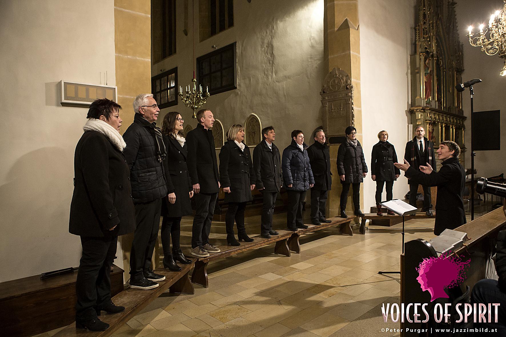 Vocalensemble Mittendrin, Voices of spirit, Gospelkonzert, I Can tell the world